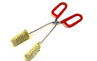 Affordable, sturdy finishing tongs are now available from Griffin Glass Tools!