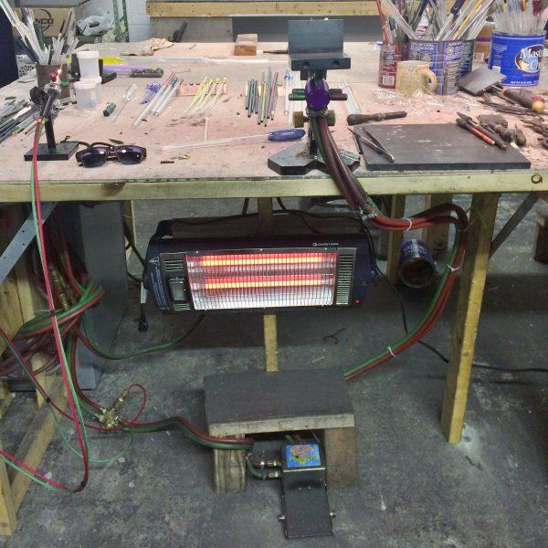 Radiant Quartz Tube Heater